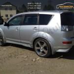 Обвес Street Mitsubishi Outlander XL 2007+/АБС-пластик