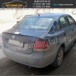 Лип-спойлер, VW Поло седан