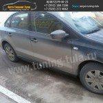 Накладки порогов, VW Поло седан