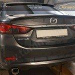 Mazda 6 2012 - Лип спойлер багажника + Накладка на заднее стекло - Козырек