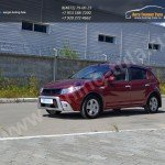 Тюнинг решетка радиатора KART RS Рено Сандеро / Степвей