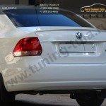 Спойлер низкий на Фольксваген Поло седан / VW POLO Sedan 2010+