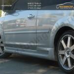 Накладки порогов Sport Ford Focus 2 (3 дверка ) 2004-2011