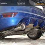 Разводка выхлопной системы на Ford Focus 2 2008-2011 хэтчбек
