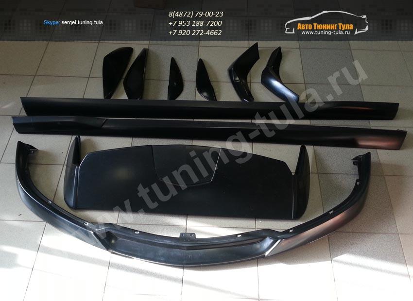 Обвес ST на Opel ASTRA H GTC 3 дв.купе(арт.100)