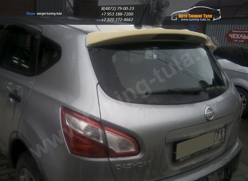 Спойлер крышки багажника Nissan Qashqai 2007 + /арт.25