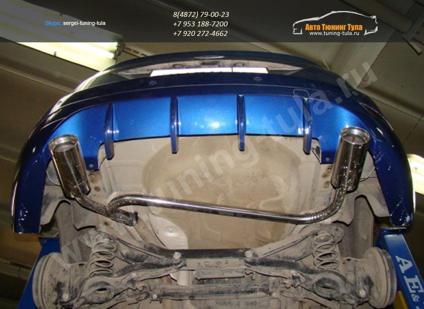 тюнинг выхлопной системы ford focus 2 хэтчбек