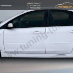 Накладки порогов FT Форд Фокус 2 2004-2011 (4d,5d)