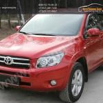 Накладки фар / Реснички / Абс-пластик /   Toyota RAV 4 2005 - 2012
