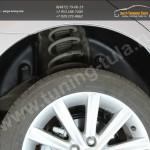 Задние подкрылки Toyota CAMRY V50 2012+