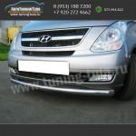 Защита переднего бампера Хюндай H1 2007