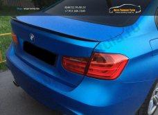 Лип спойлер багажника M-Стиль вар.1 BMW 3 series F30 2012+  /арт.234