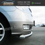 Защита переднего бампера d76 Хюндай H1 2007