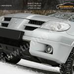 Накладка переднего бампера Mitsubishi OUTLANDER I 2003-2007