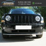 Защита переднего бампера Jeep Liberty