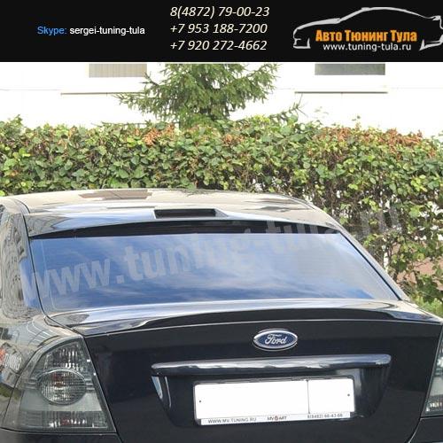 Козырек заднего стекла с вырезом по стоп Форд Фокус 2 седан/арт.227