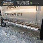 Защита порогов d76 VW Amarok