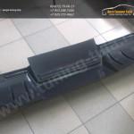 Диффузор заднего бампера вар.1 / АБС-пластик / Лансер 10