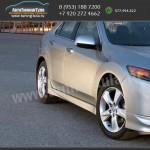 Накладки порогов/Обвес Type-S Honda Accord 8