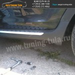 Пороги КИА Sportage 3/ R BMW-Style