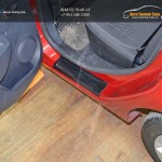 "Накладки в проемы задних дверей ""KART RS NEW"" для Рено Сандеро 2014"