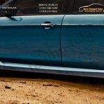 Накладки порогов ST Форд Фокус 2 2004-2011/4-5дв.