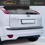 Накладка заднего бампера FT Форд Фокус 2 до рестайл 2004-2008 3D-5D