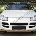 Накладки фар передние /ресницы/ Porsche Cayenne 955