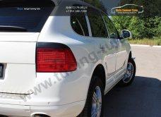Накладки фар задние /ресницы/ Porsche Cayenne 955 2002-2010/арт.627-18