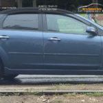 Накладки порогов SR Форд Фокус 2/4-5 дв.  Ford Focus II 2004 - 2012 /арт.272