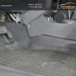 Тоннельные накладки на ковролин «КАРТ» для Рено Дастер (для автомобилей 4х4, АКПП, 2014 г.выпуска)