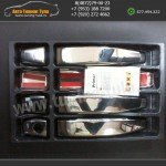 Накладки ручек дверей-нержавейка Lexus RX-330