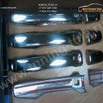 Накладки ручек дверей - сенсор /Нерж.сталь/ Тойота Лэнд Крузер 200 2007+