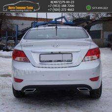 Диффузор бампера Хендай Солярис / Solaris 2010-2013 sedan/арт.310