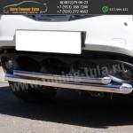 Защита бампера d63/42 Ниссан Жук/Nissan Juke