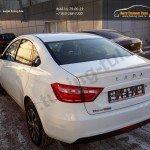 Лип спойлер багажника Лада Веста / Lada VESTA 2015-