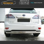 Защита d76/42 бампера Lexus RX 270/350/450H с 2009 г.в.