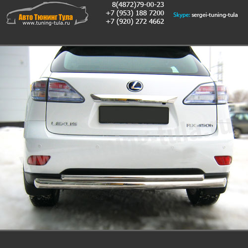 Защита бампера Lexus RX 270/350/450H с 2009 г.в./арт.363