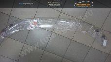 CA Plastic 2010010209551  дефлектор капота Toyota Land Cruiser Prado 150 2014-   Прозрачный /арт.127