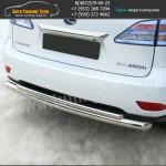 Защита d63/42 бампера Lexus RX 270/350/450H с 2009 г.в.