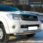 Защита переднего бампера d63/63 Тойота Hilux