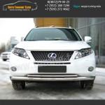 Защита бампера d63/42 Lexus RX 270/350/450H с 2009 г.в.