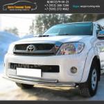 Защита переднего бампера d63/42 Тойота Hilux