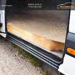 Накладка на порог боковой двери Mercedes-Benz Sprinter 2006-2013+