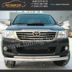 Защита переднего бампера d76/42 Тойота Hilux