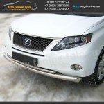 Защита бампера d76/42 Lexus RX 270/350/450H с 2009 г.в.