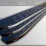 Алюминиевые пороги ТСС Chevrolet Captiva 2006-2015, 2016
