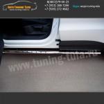 Пороги/Подножки d75x42 на Фольксваген Тигуан