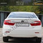 Лип спойлер багажника /Абс-пластик/ Тойота CAMRY V50 с 2012 г.в