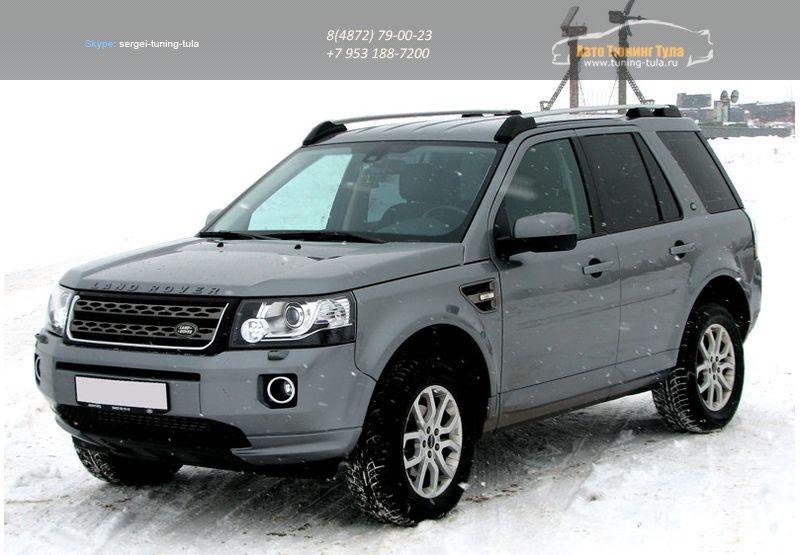 Рейлинги на крышу APS / алюминий / Land Rover Freelander 2 с 2007 г.в./арт.416